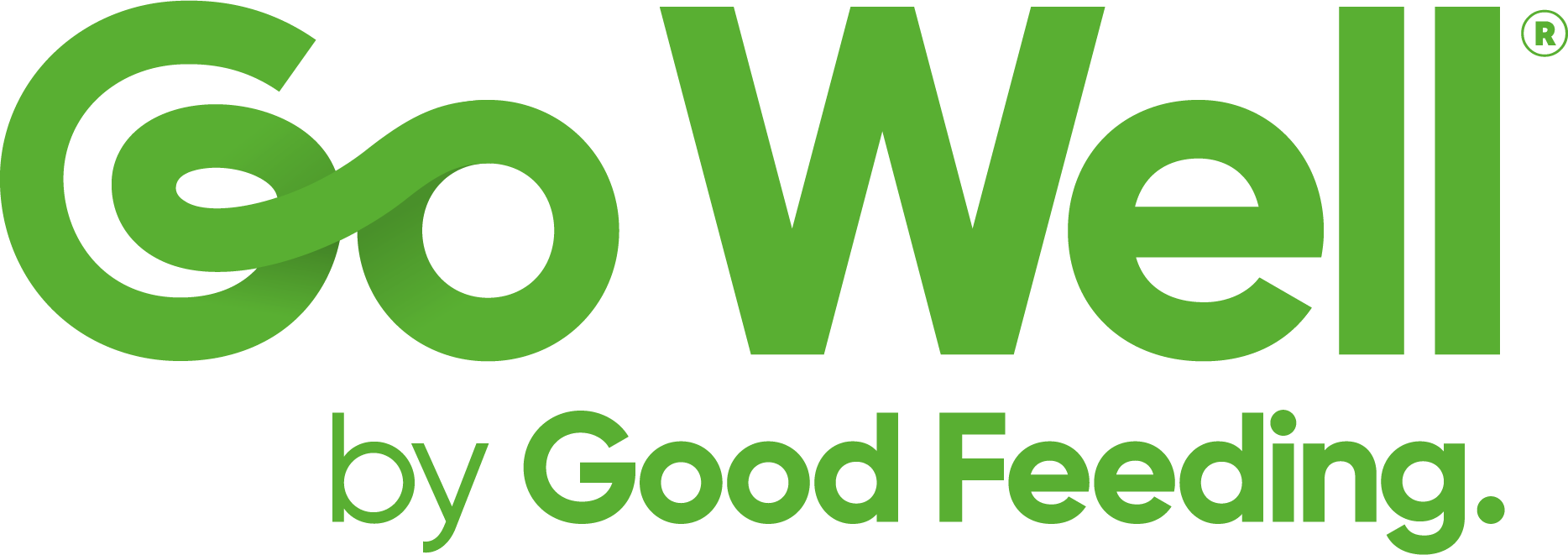 Go Well by Good Feeding Logo RGB - Green (R)